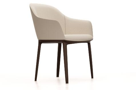 Soft-shell Chair vitra chaise