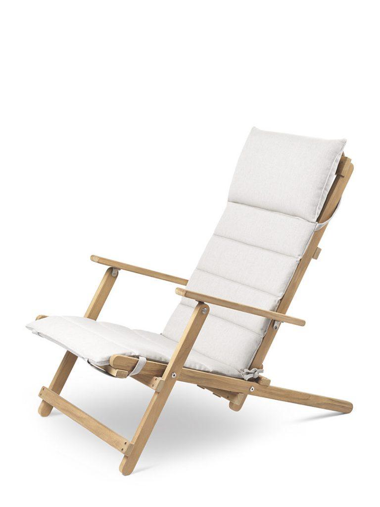 carl hansen & son Borge Mogensen Outdoor chaise table exterieur