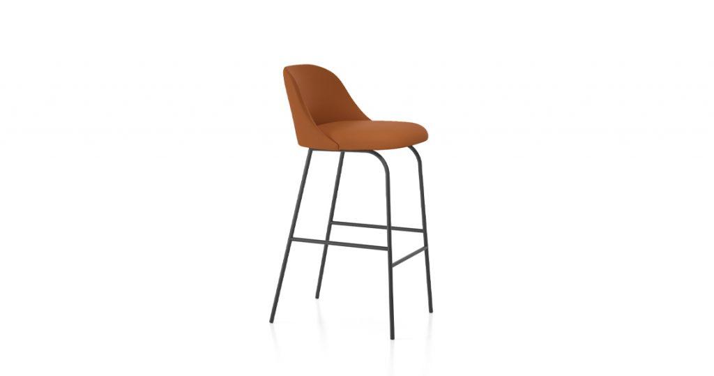 chaise bar viccarbe aleta stool