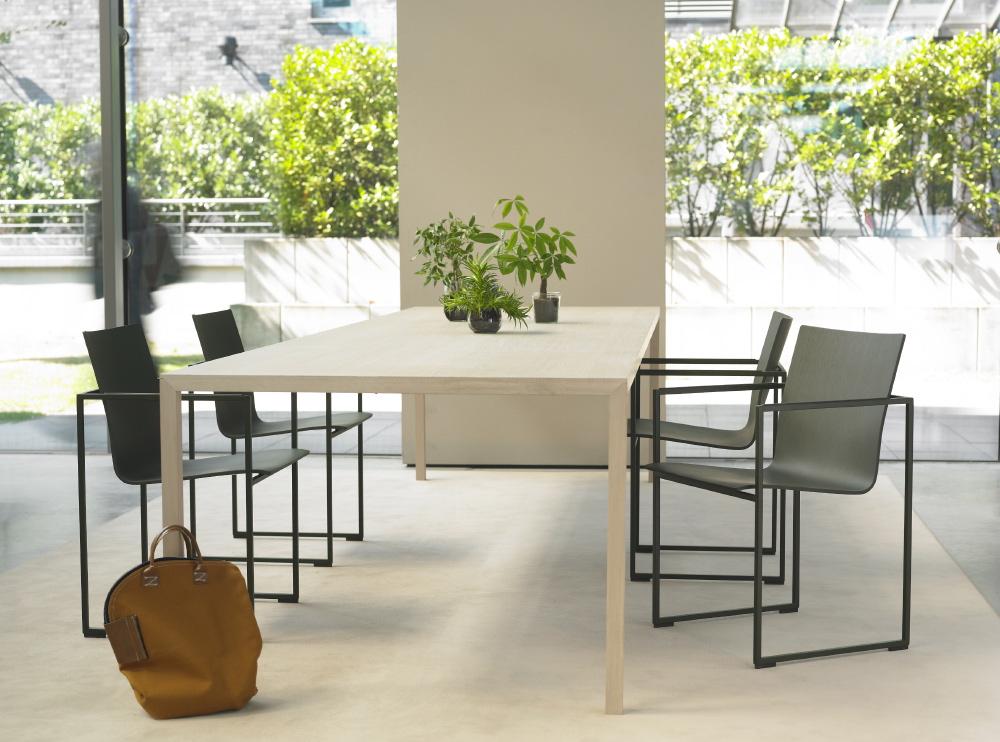 table bois limé slim+ Arco