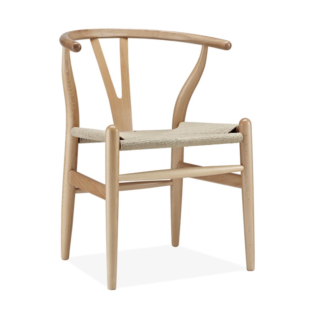 chaise Carl Hansen & Son CH24 Wishbone Chair bois