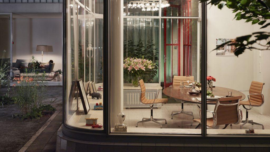 table de bureaux Eames segmented tables vitra