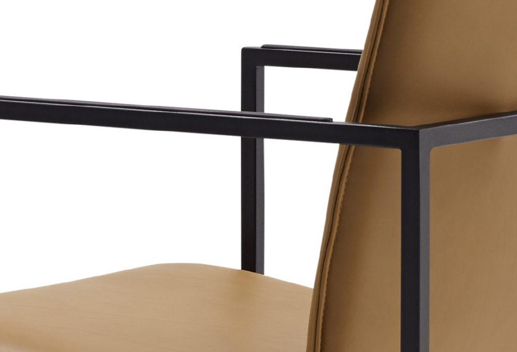 chaise frame chair arco