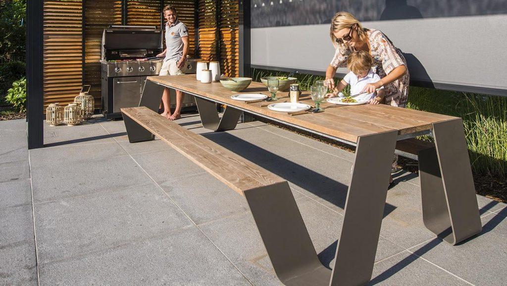table extérieur Hopper PIC NIC tables Extremis