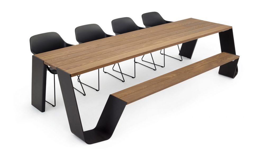table extérieur extremis Hopper tables