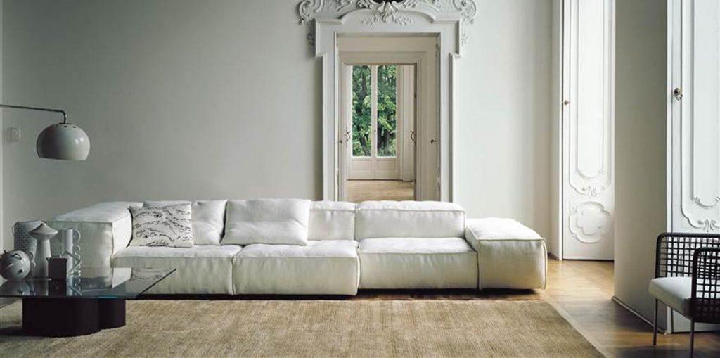 canapé living divan extra soft sofa