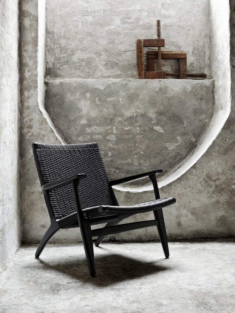 fauteuil carl Hansen CH25 Lounge
