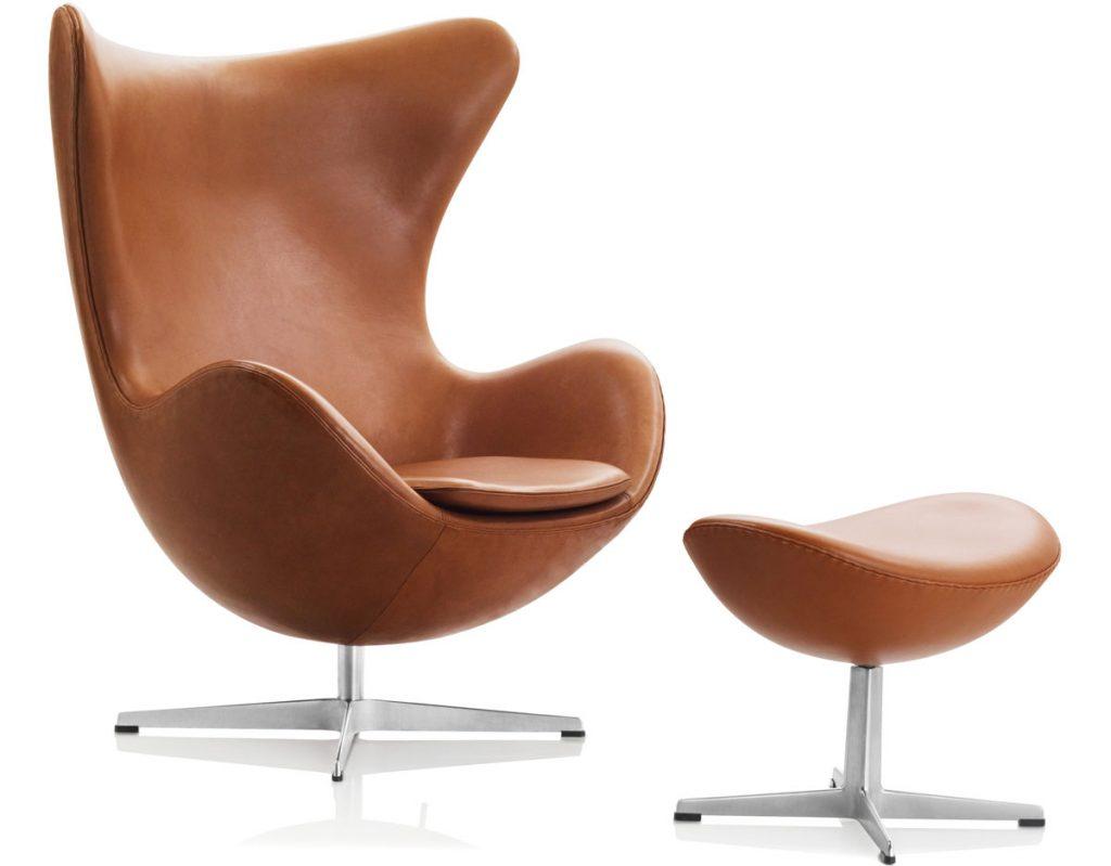 fauteuil Egg easy chair Fritz Hansen
