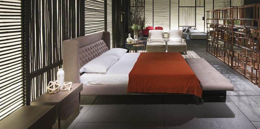 espace nuit lit lisp bed living divani