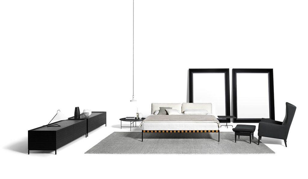 espace de nuit lit de Padova Etiquette
