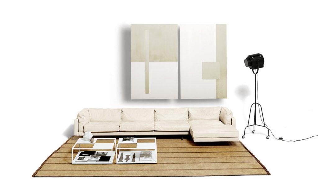 canapé salon de Padova square 16 sofa
