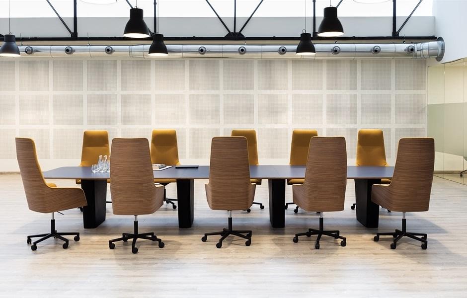chaise de bureau alya Executive Andreu world