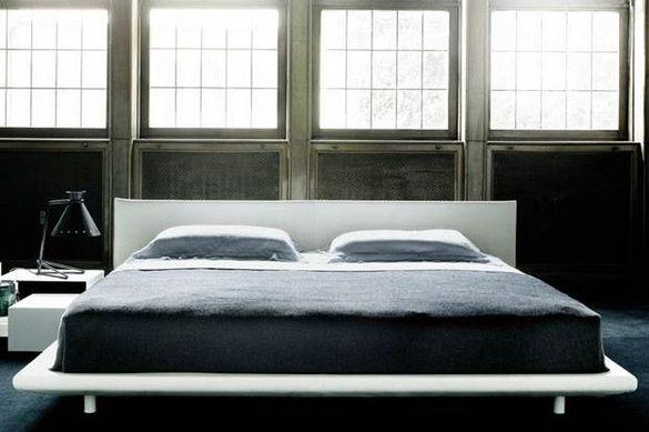 espace nuit lit living divani chemise
