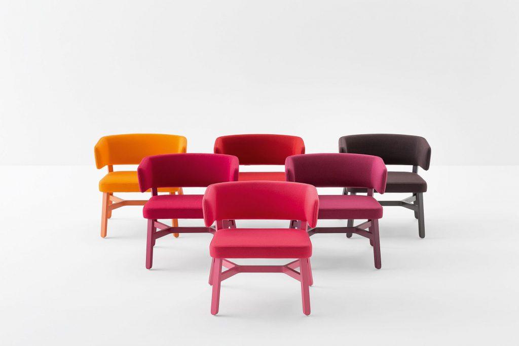 chaise croissant billiani