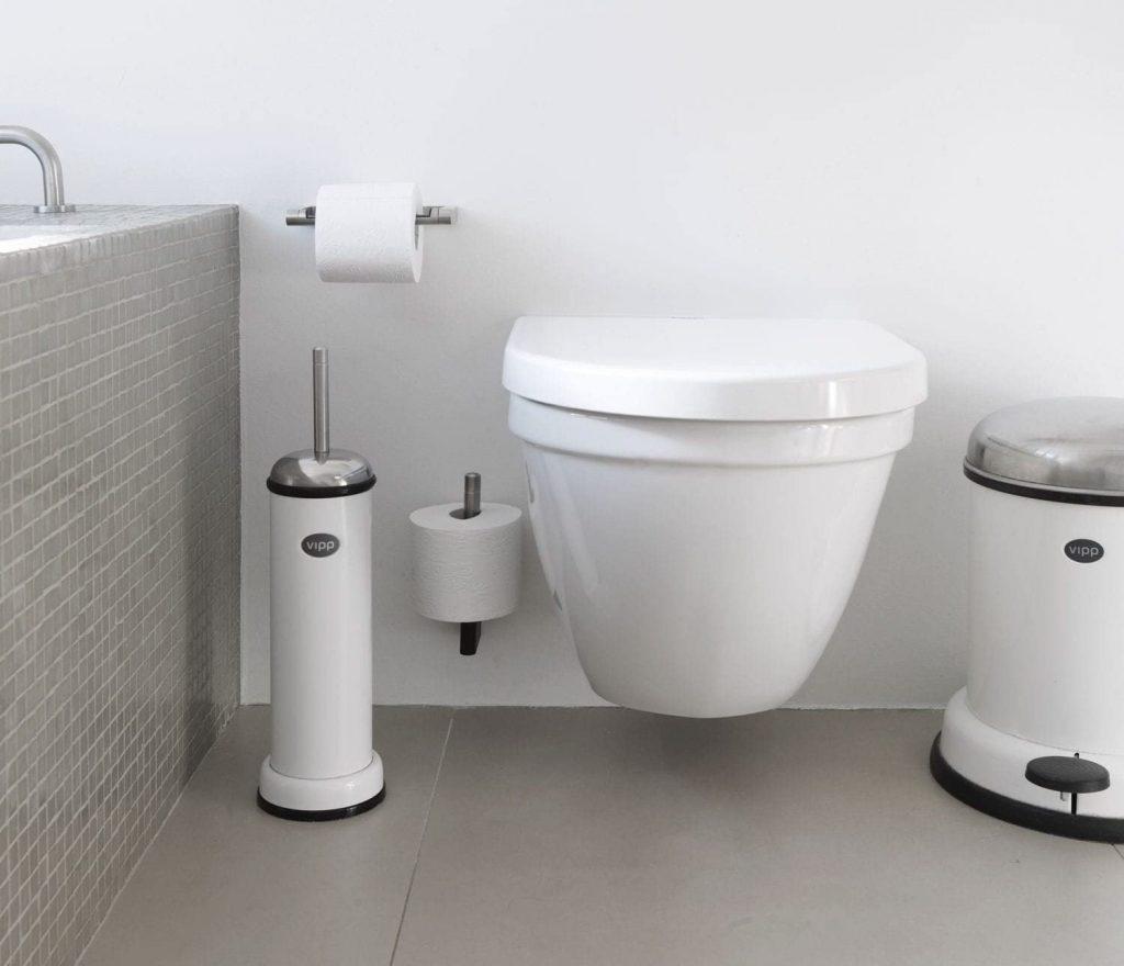 accessoire salle de bain toilette Toilette Roll Holder Vipp 3 Vipp