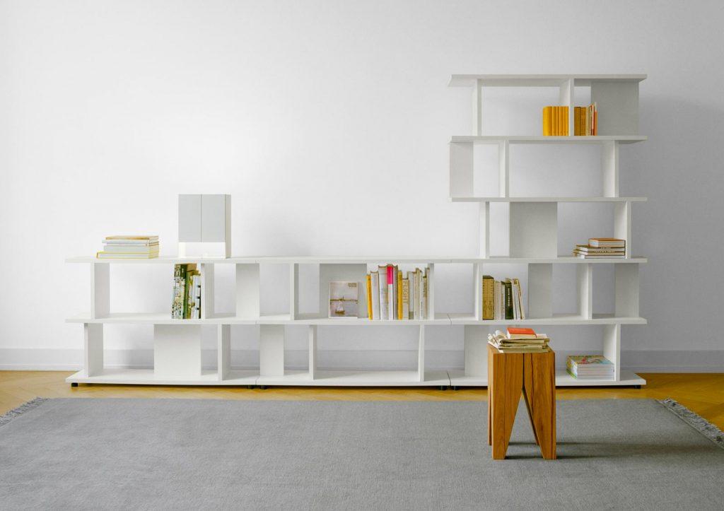 rangement bibliothèque étagères Arie E15
