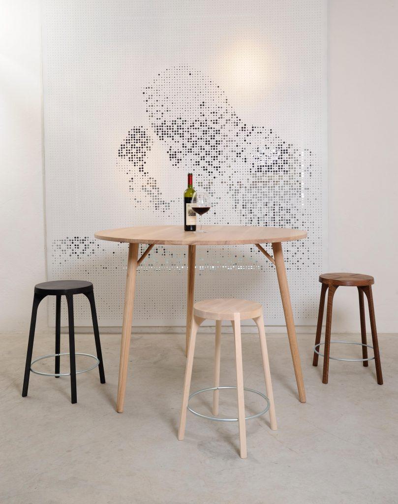 Table table haute Zanat Branchmark