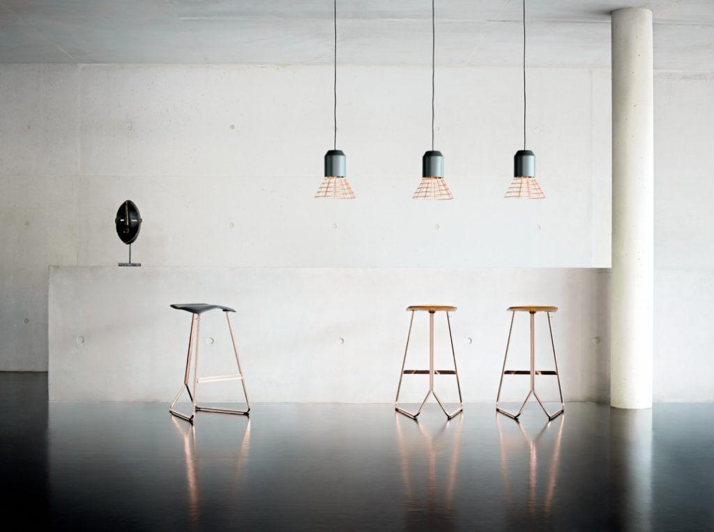 luminaire suspension bell light classicon