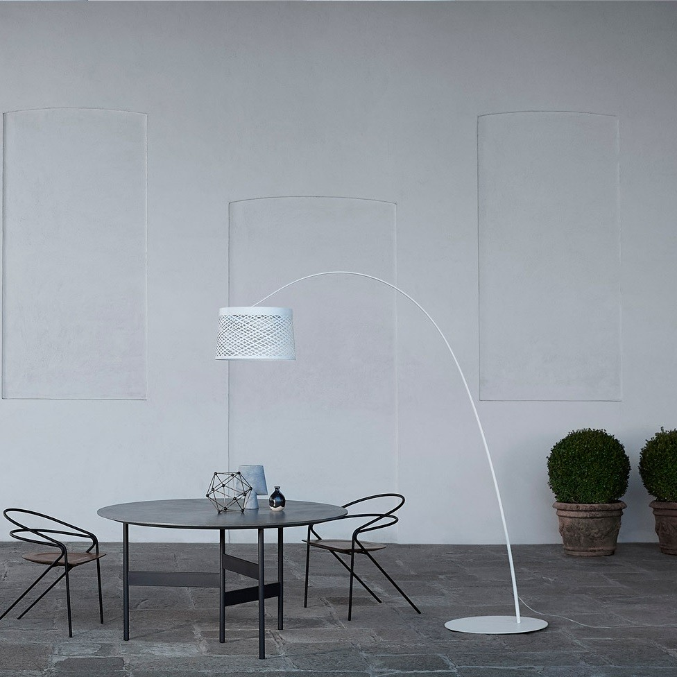 luminaire extérieur lampadaire foscarini twiggy grid