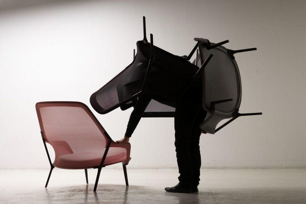 firstfloor slow chair vitra
