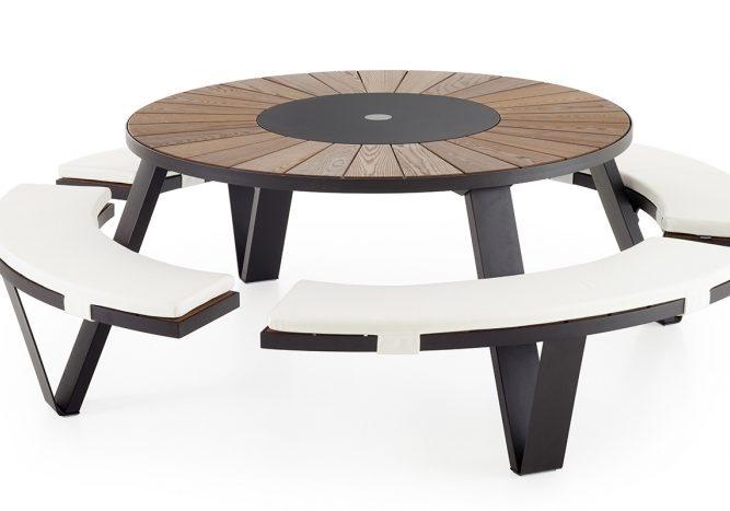Table outdoor Extremis Pantagruel
