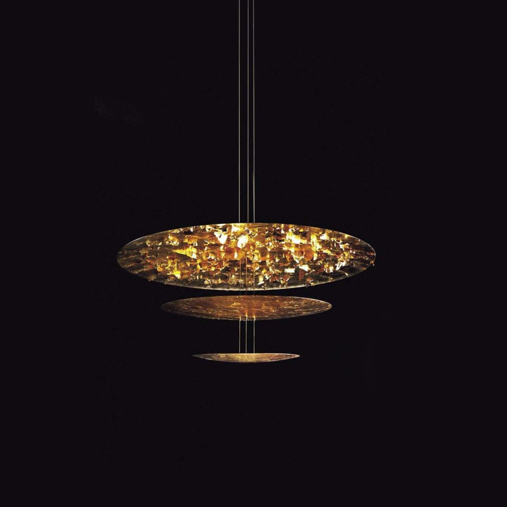 luminaire suspension Macchina Della Luce Cattelani & Smith or