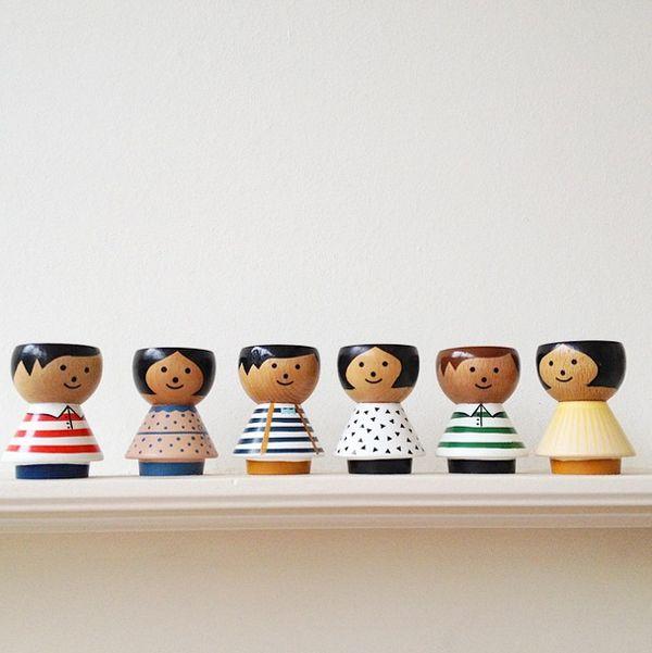 art de la table coquetier egg holders Lucie Kaas