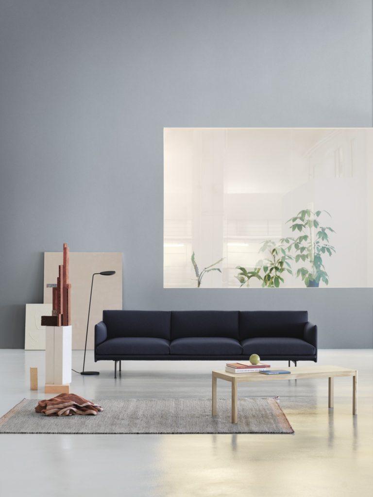 canapé 3 places outline sofa