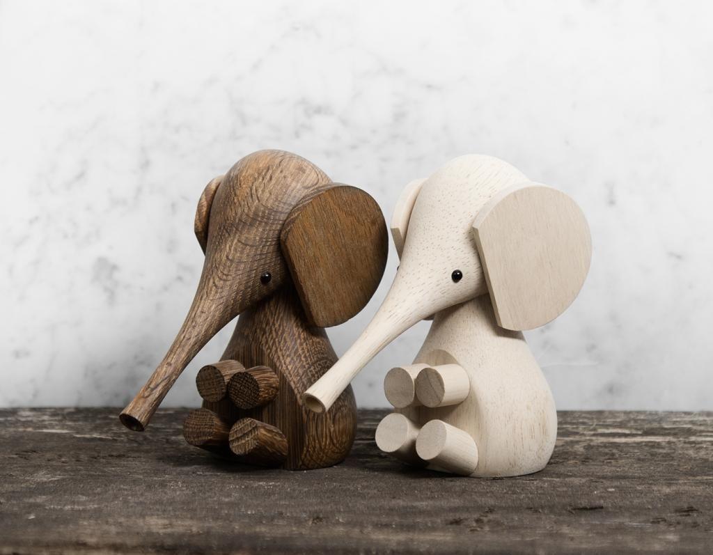 decoration figurine wooden animals Lucie kaas