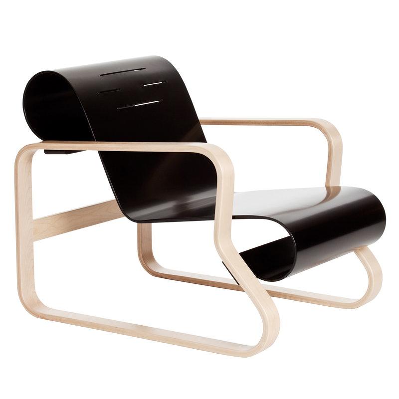 fauteuil accoudoir noir intérieur