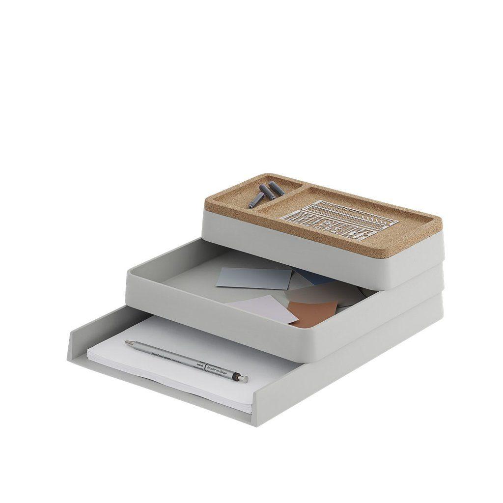 rangement bureau accessoire muuto arrange desktop series