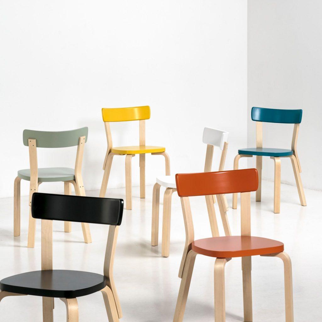 chaise chair 69 artek
