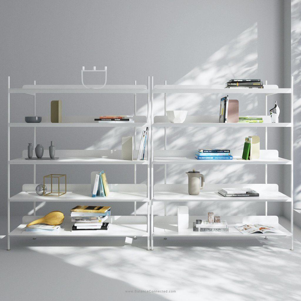 bibliothèque rangement compile shelving system muuto