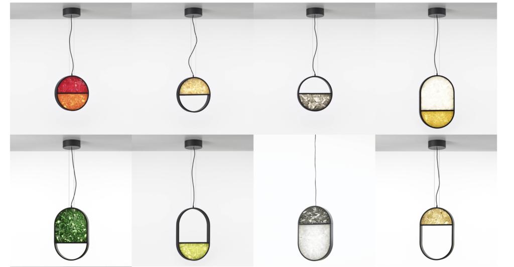 Brokis Geometric luminaire suspension