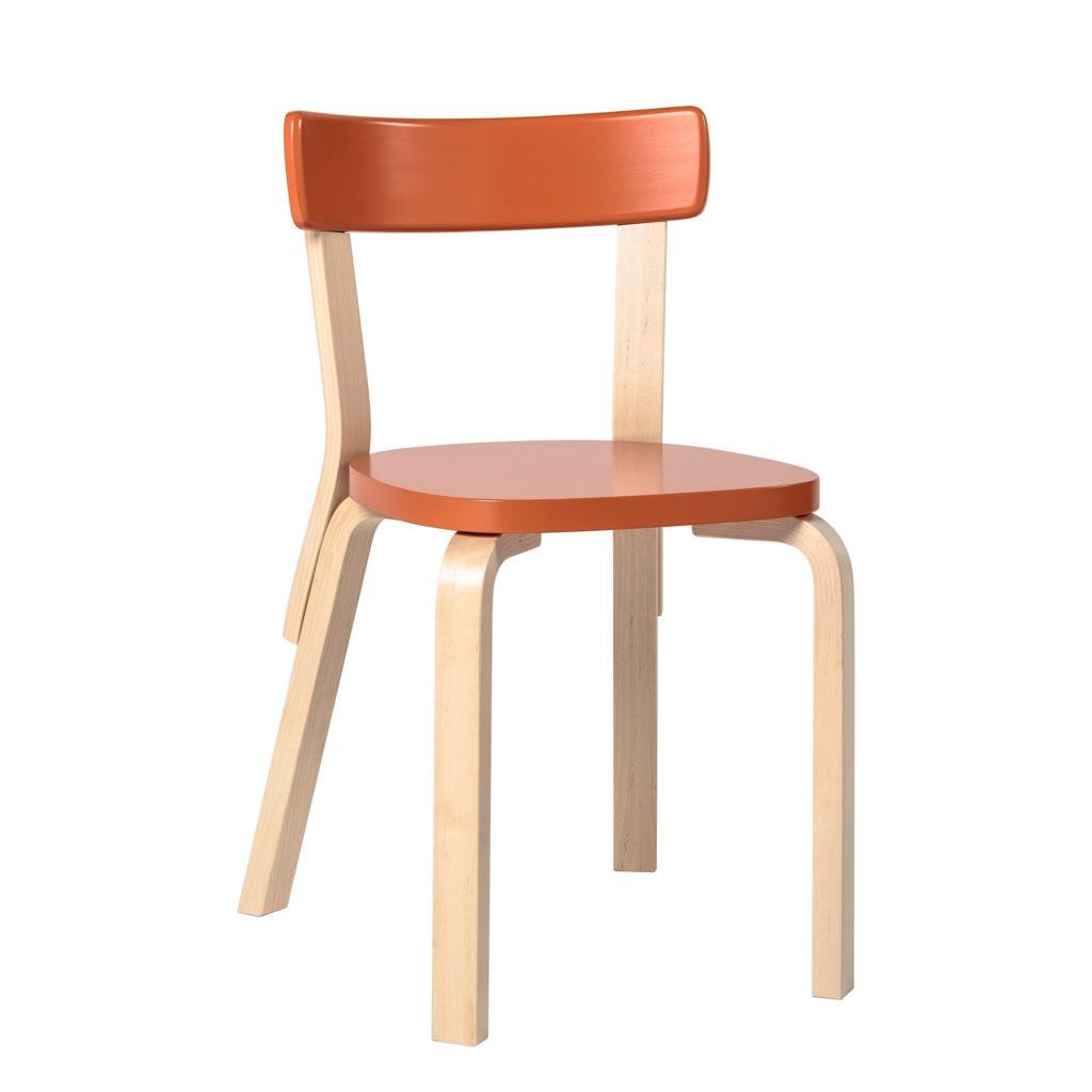 chaise intérieur bois 69 Artek