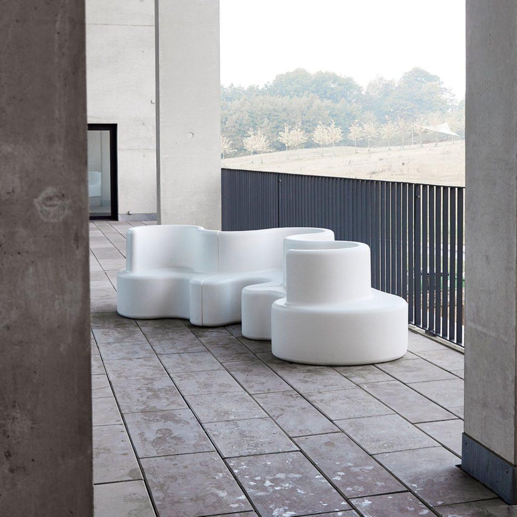 outdoor extérieur canapé verpan cloverleaf sofa