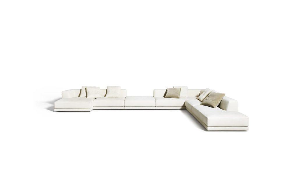 canapé composition de Padova alberese modulable