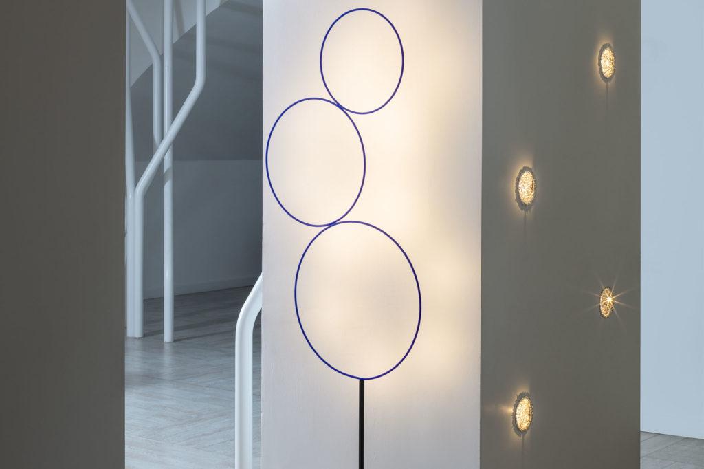 lampe de sol lampadaire luminaire sorry Giotto cattelani & smith