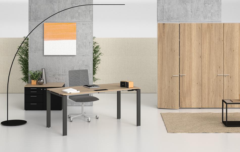 bureaux professionnel bralco table glider