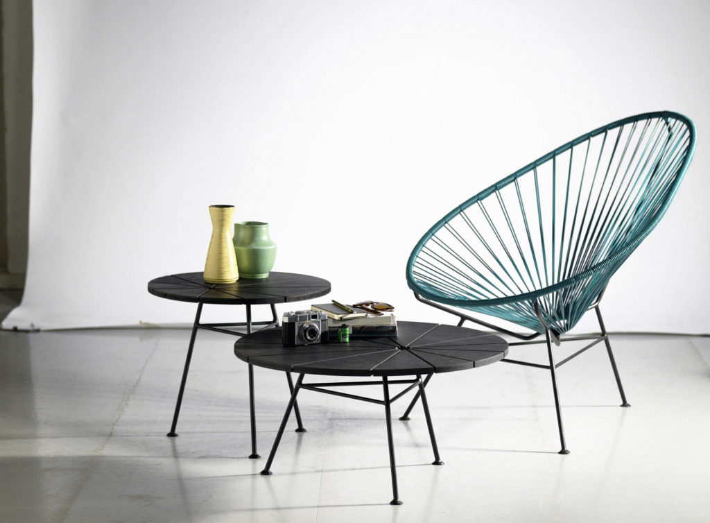petite table bois metal