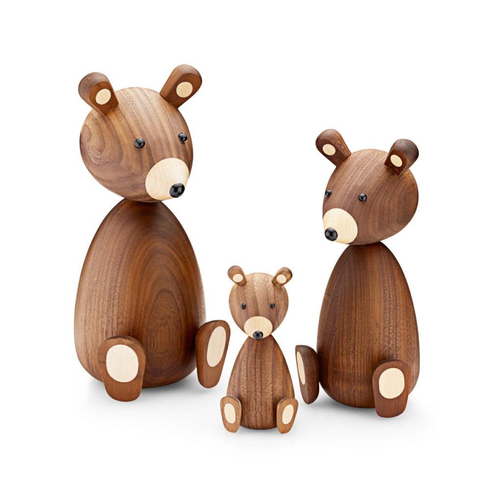 ours en bois decoration Lucie Kaas  wooden animals