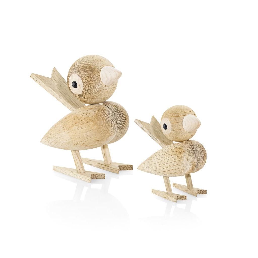 oiseaux figurine en bois Lucie Kaas wooden animals