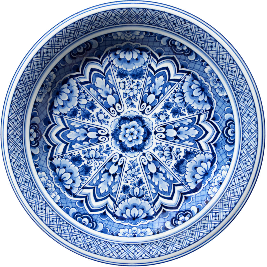 tapis Moooi Carpets Delft blue collection