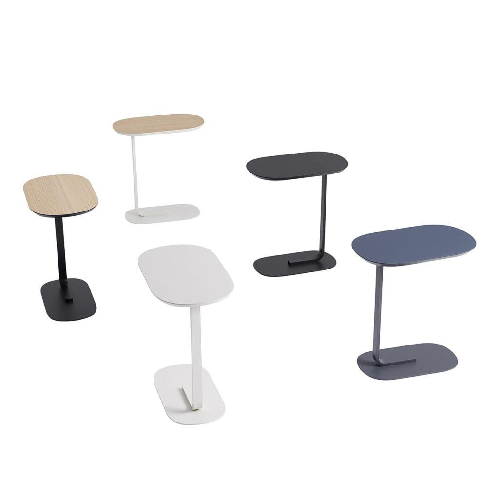 table d'appoint de salon relate side table muuto