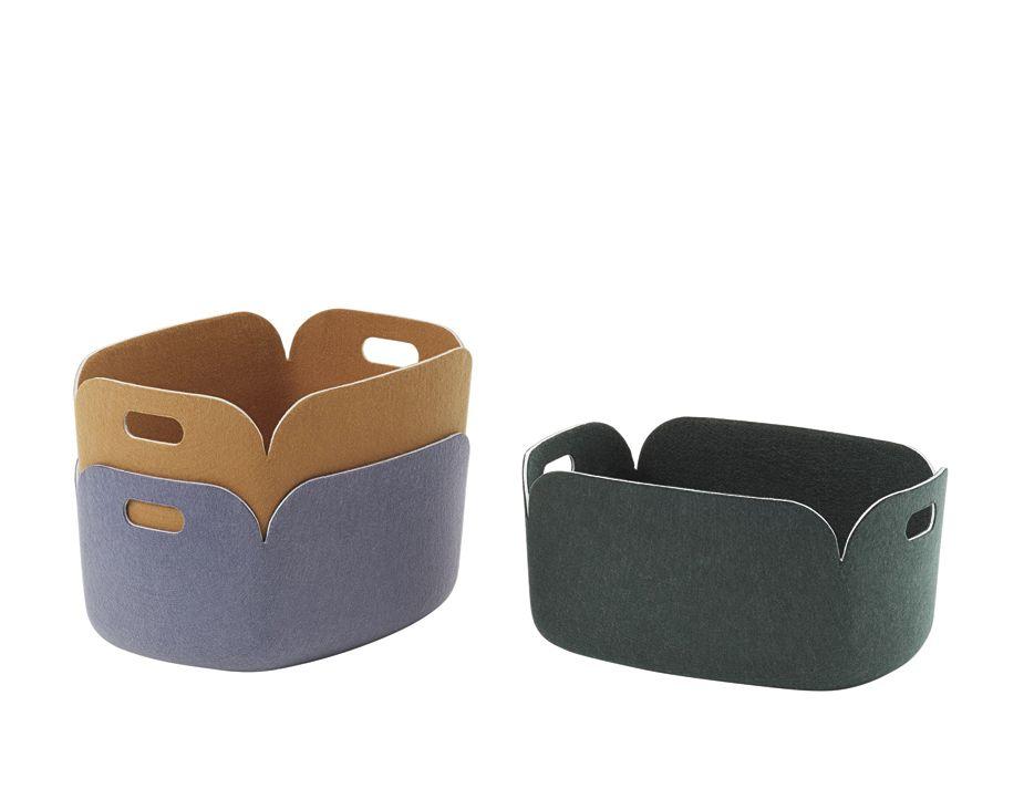 panier de rangement accessoire muuto restore basket
