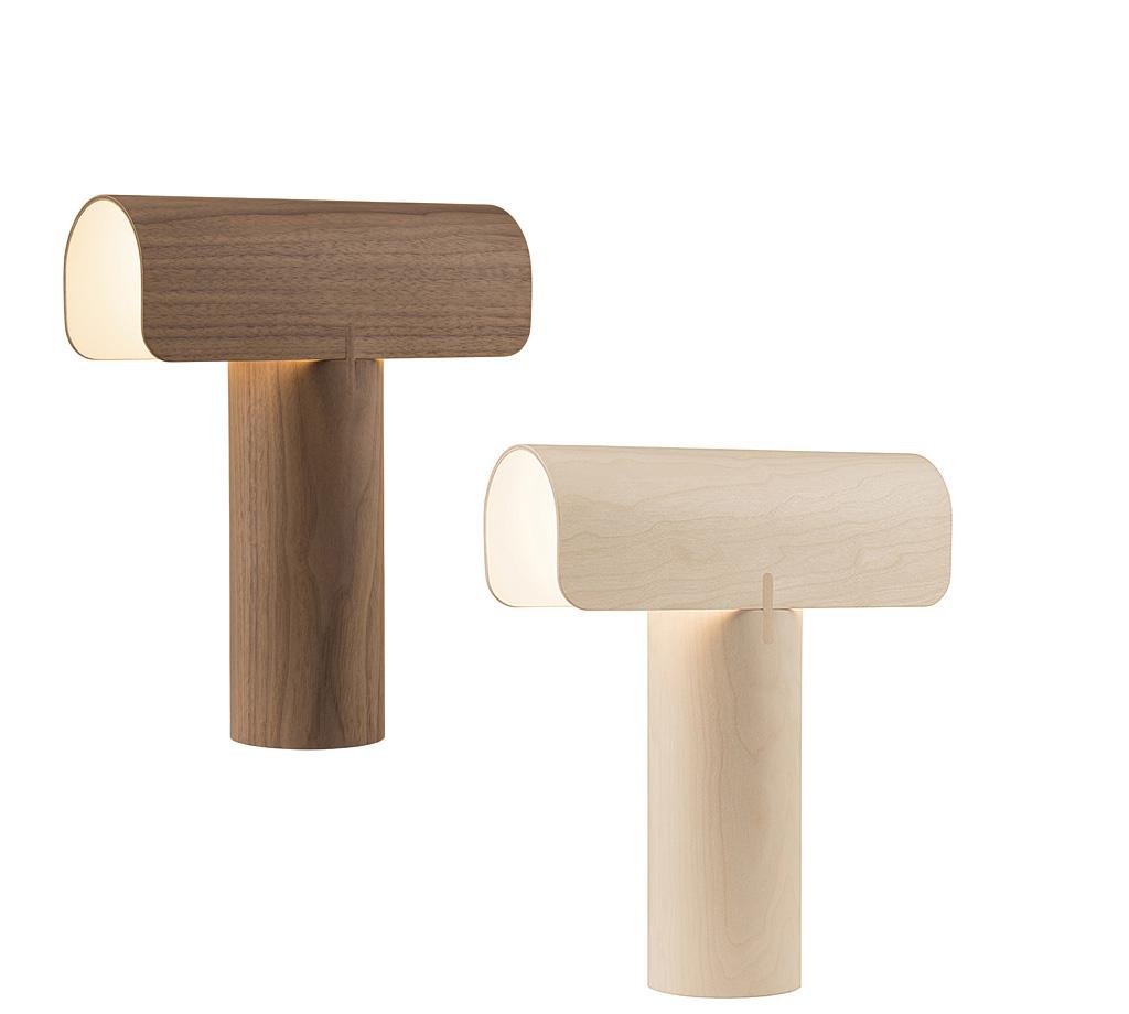 eco design bois lampe de table lampe de chevet