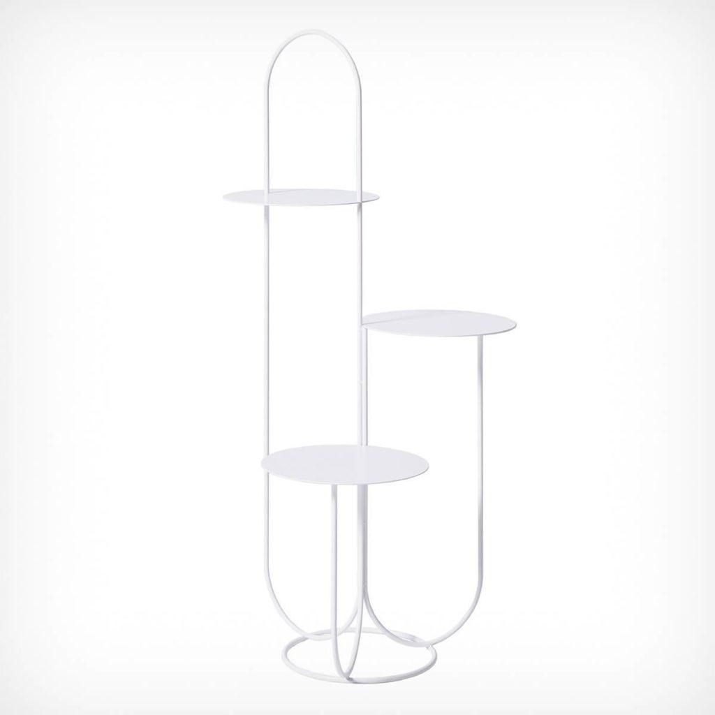 table pour objet plantes ok design trumpet table