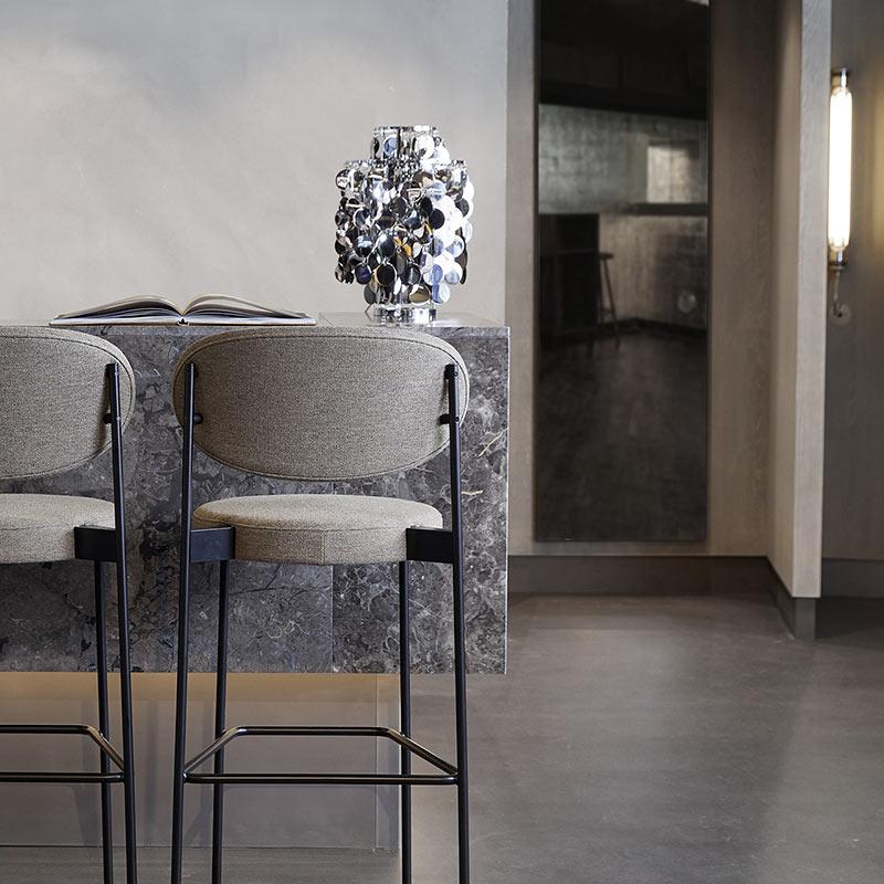 chaise haute tabouret verpan serie 430 bar stool