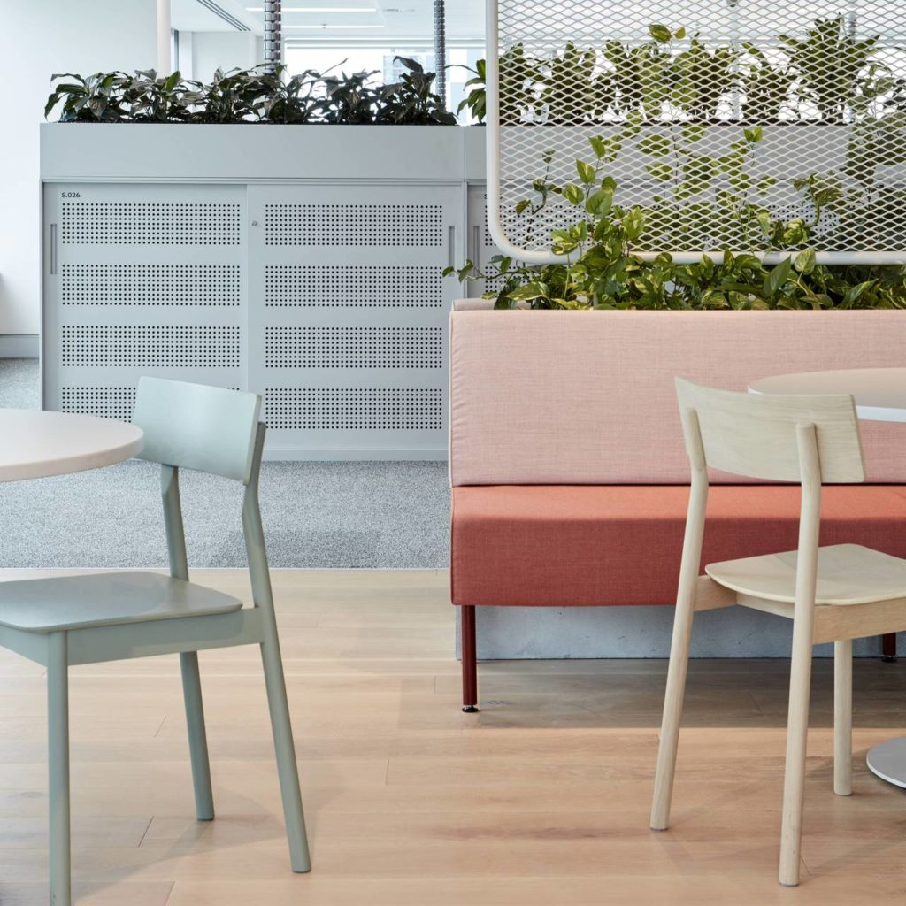 chaise pause dining chair 2.0 woud