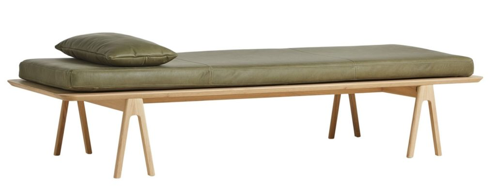 textile accessoire coussin cuir level daybed pillow woud